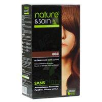 Nature & Soin Kit coloration 6GC blond foncé doré cuivré à Saint -Vit
