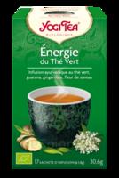 Yogi Tea Thé énergie du thé vert bio 17 Sachets à Saint -Vit