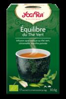 Yogi Tea Thé équilibre du thé vert bio 17 Sachets à Saint -Vit