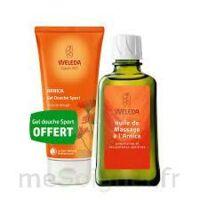 Weleda huile de massage arnica 200ml  + Gel douche OFFERT à Saint -Vit