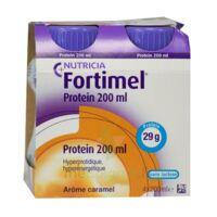 Fortimel Protein Nutriment caramel 4 Bouteilles/200ml à Saint -Vit