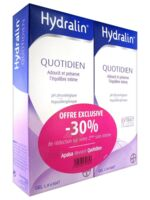 Hydralin Quotidien Gel lavant usage intime 2*200ml à Saint -Vit