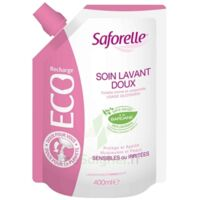 Saforelle Solution soin lavant doux Eco-recharge/400ml à Saint -Vit