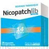 Nicopatchlib 14 Mg/24 H Dispositifs Transdermiques B/7 à Saint -Vit