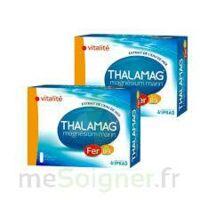 Thalamag Fer B9 Vitalité 60 gélules lot de deux