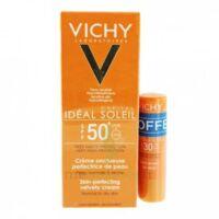 Vichy Ideal Soleil Spf50 Crème Onctueuse Visage Fl/30ml Pocket à Saint -Vit