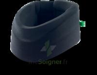 Cervix 2 Collier cervical semi-rigide noir/vert H9cm T1 à Saint -Vit