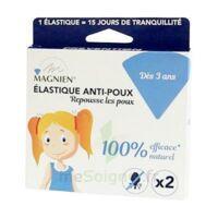 Magnien Elastique anti-poux B/2 à Saint -Vit