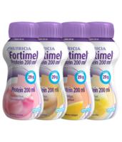 Fortimel Protein Nutriment Multi Saveurs Caramel/vanille/fraise/mangue 4 Bouteilles/200ml à Saint -Vit