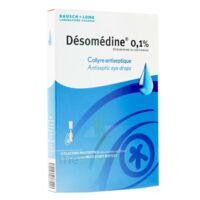 DESOMEDINE 0,1 % Collyre sol 10Fl/0,6ml à Saint -Vit