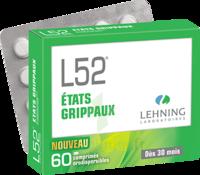 Lehning L52 Comprimés orodispersibles Plq PVC/PVDC/Alu/60 à Saint -Vit