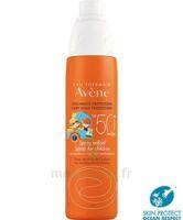 Avène Eau Thermale Solaire Spray Enfant 50+ 200ml à Saint -Vit