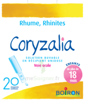 Boiron Coryzalia Solution buvable unidose B/20 à Saint -Vit