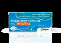 Magnesium/vitamine B6 Mylan 48 Mg/5 Mg, Comprimé Pelliculé à Saint -Vit