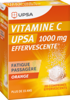 VITAMINE C UPSA EFFERVESCENTE 1000 mg, comprimé effervescent à Saint -Vit