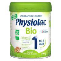 Physiolac Bio 1 Lait En Poudre B/800g à Saint -Vit